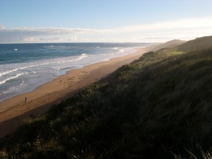 Logan's beach Warrnambool July 2010